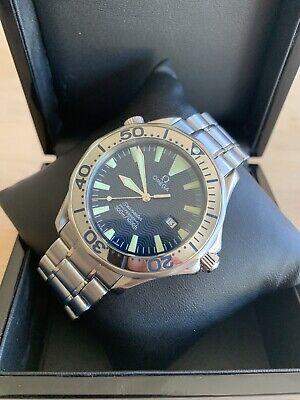 OMEGA Seamaster Professional Diver 300M 41mm Quartz Blue Watch - 2265.80