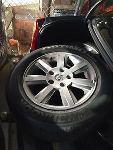 VZ Berlina Rims with Roadworthy Tyres Southbank Melbourne City Preview