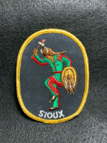 Vintage Sioux Native American Patch