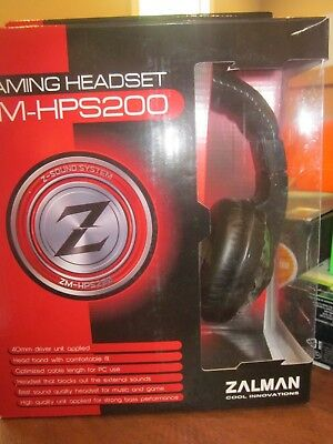 ZALMAN Gaming  Headset {ZM-HPS200} with microphone & built-in volume control
