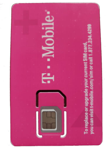 T-MOBILE +Unlimited Data HOTSPOT 4G LTE Sim Card Activation NEW PLAN I ONLY SELL