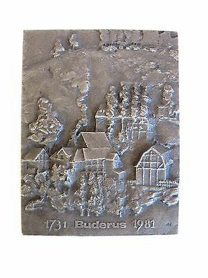 Sehr schöner älterer plastischer Zinnstich 1731 Bruderus 1981