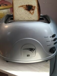 Novelty New England Patriots toaster