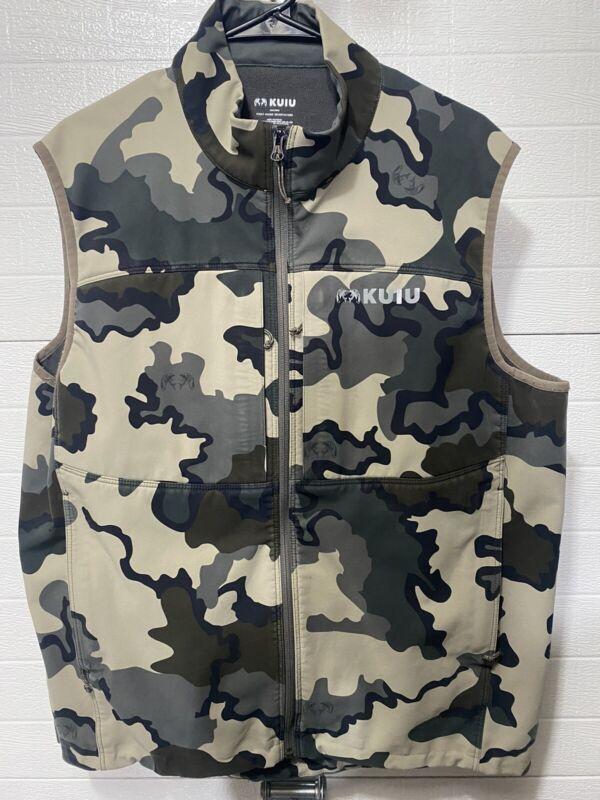 Kuiu Guide DCS Vest. Vias Camo. Size XL