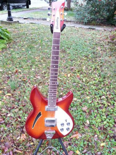 Bradley electric guitar 1970