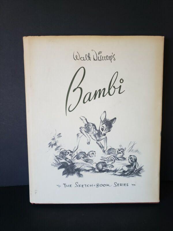 1997 Walt Disney Bambi The Sketch Book Series