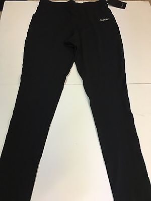 Reebok Penguins Player Locker Room Black Thermal Pants BRAND NEW Size Medium
