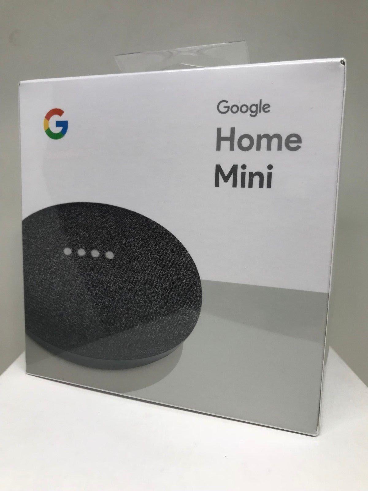 Google Home Mini - Smart Small Speaker - Charcoal - BRAND NEW