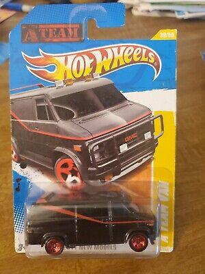 2011 Hot Wheels Black A-Team Van New Models