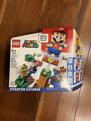 LEGO 71360 Super Mario Adventures W/ Mario Starter Course FREE SHIPPING