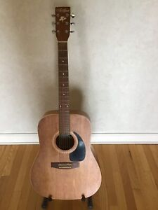 Art & Luthier Wild Cherry Electric-Acoustic Dreadnought