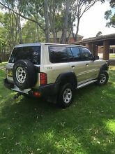 2001 Nissan Patrol GU - 3L Turbo Diesel - Long Rego Campbelltown Campbelltown Area Preview