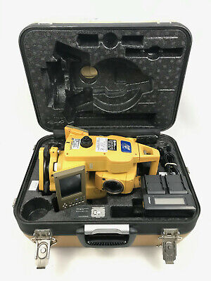 Topcon Gts-723 Total Station In Hard Case W Battery Charger Needs Calibration