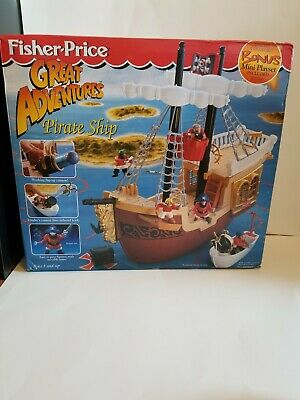 Pirate Ship Great Adventures Fisher Price 1998
