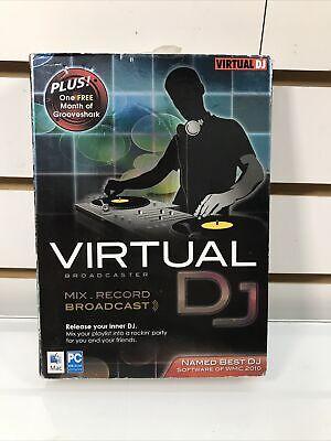 Encore Virtual DJ Broadcaster CD-ROM, Mac, Windows 26630