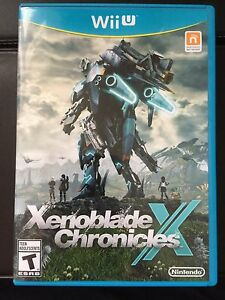 Wii U Xenoblade Chronicles X Used