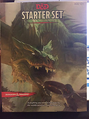 Free Uk Shipping! Dungeons and Dragons RPG Starter Set 5th Edition, New & Sealed