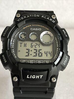 Casio Men's Digital Vibration Alarm Watch W-735H-1AVEF.