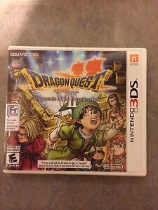 Dragon Quest VII Nintendo 3DS Game