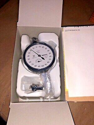 Mitutoyo Dial Indicator 2109sb-10 1um New