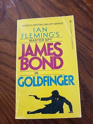 Ian Fleming Goldfinger James Bond Paperback Berkley 3rd Printing 1983 Good, Rare