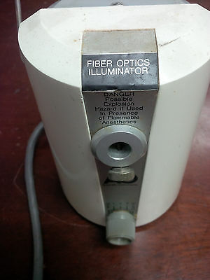 Ao Fiber Optic Illuminator Ll-80 American Optical Microscope Light Source
