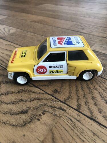 Heller-vintage clic-clac-renault r5 turbo