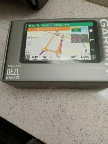 "Garmin Dezl OTR800 8"" Touchscreen Display GPS Truck Navigator 010-02314-00 -New!"