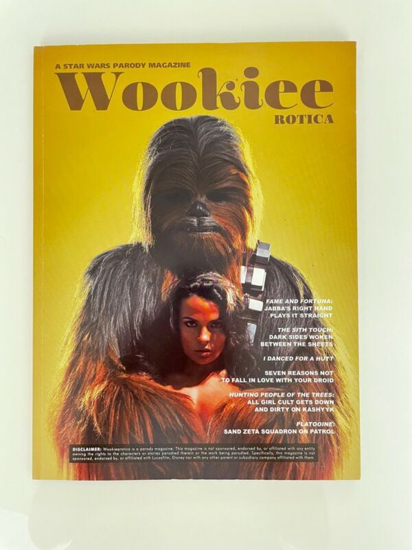 WOOKIEEROTICA ISSUE 1 - Star Wars Parody Magazine by Giant Panda King