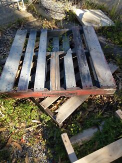 old timber and pallets suitable for firewood