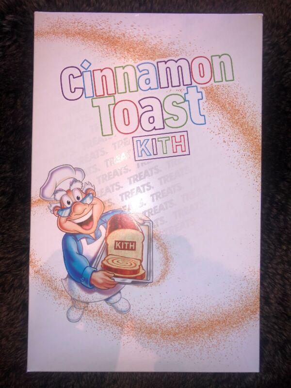 KITH Cinnamon Toast Crunch Limited Cereal Box Brand New Unopened! Rare LA Drop