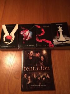 Collection livres Twilight