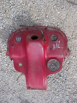 Ford 8n Tractor Late Model Dash Assembly W Gauges Tachometer - Key Back Panel
