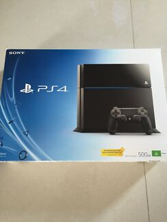 PS4 500GB 6 Games Seaton Charles Sturt Area Preview