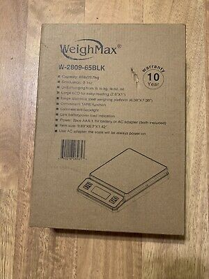 Weighmax Digital Postal Weight Shipping Scale For Grams Pound Ounce Up To 90 Lbs
