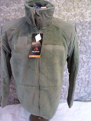 Gen Iii Level L3 Polartec Fleece Jacket Ecwcs Foliage L R Goodwill Ind  New Nwt