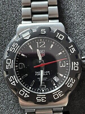TAG HEUER FORMULA 1 STAINLESS STEEL MEN'S WATCH