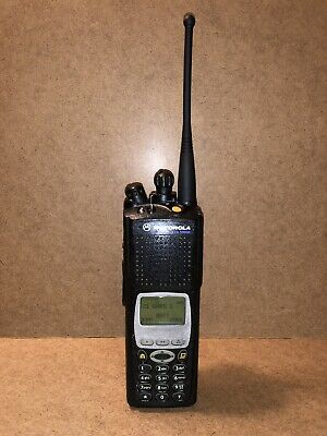 Motorola Xts5000 M3 Miii Uhf 380-470mhz H18qdh9pw7an Front Panel Programming