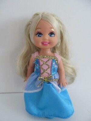Kelly Island Princess Doll w Blonde Hair Blue Dress & Shoes Mattel Barbie