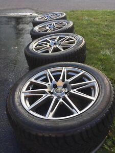 """Winter Tires set on 19"""" Mags"""