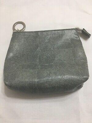 Kerstin Florian Grey Make Up Bag