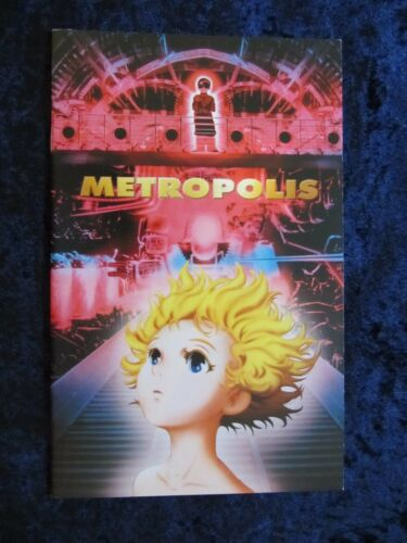 Metropolis press book  - Japanese Anime, Manga - 19 pages - (2001)