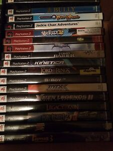 Playstation 2 games $5 each