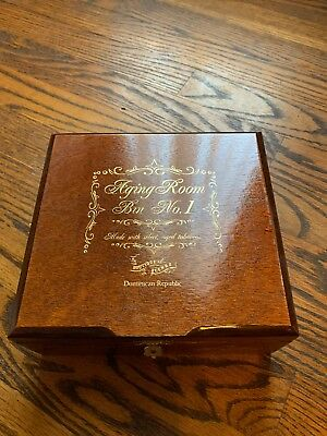 "No 1 Dominican Natural Box (Aging Room Bin No. 1 "" B Minor"" Cigar Box Dominican Republic Beautiful Natural)"