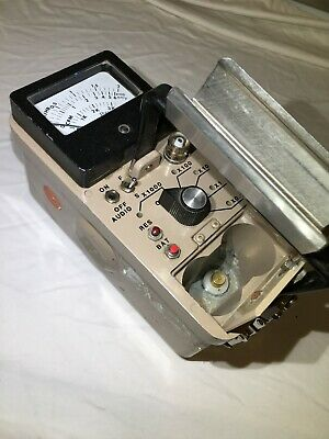 Ludlum 14c Gm Scintillation Radiation Survey Meter Alpha Beta Gamma - Video