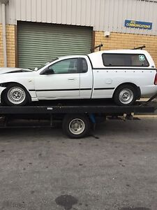 Falcon BA GAS only ute wrecking We want your business. Malaga Swan Area Preview