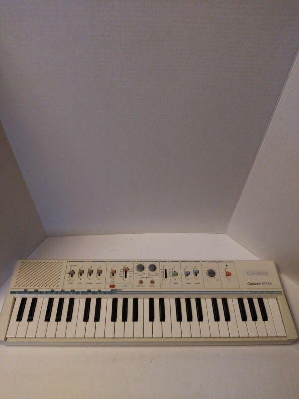 Vintage Casio MT-45 Casiotone Analog Electronic Keyboard Piano key READ