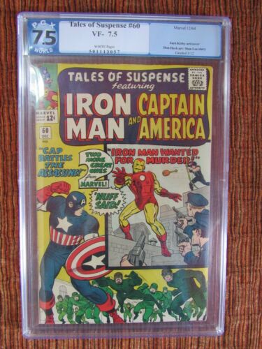 Tales of Suspense 60 PGX 7.5 Captain America Iron Man 1964