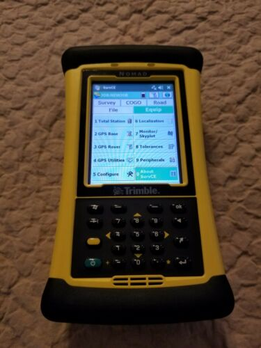 Trimble TDS Nomad 900 Data Collector, Survce 6, Survey Pro GNSS
