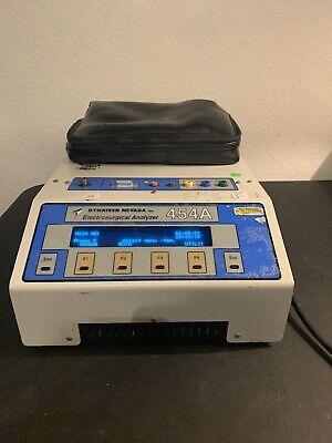 Dynatech Nevada 454a Electrosurgival Analyzer 2.25 Waccessories 30 Day Warranty